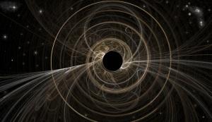 Fractal black hole